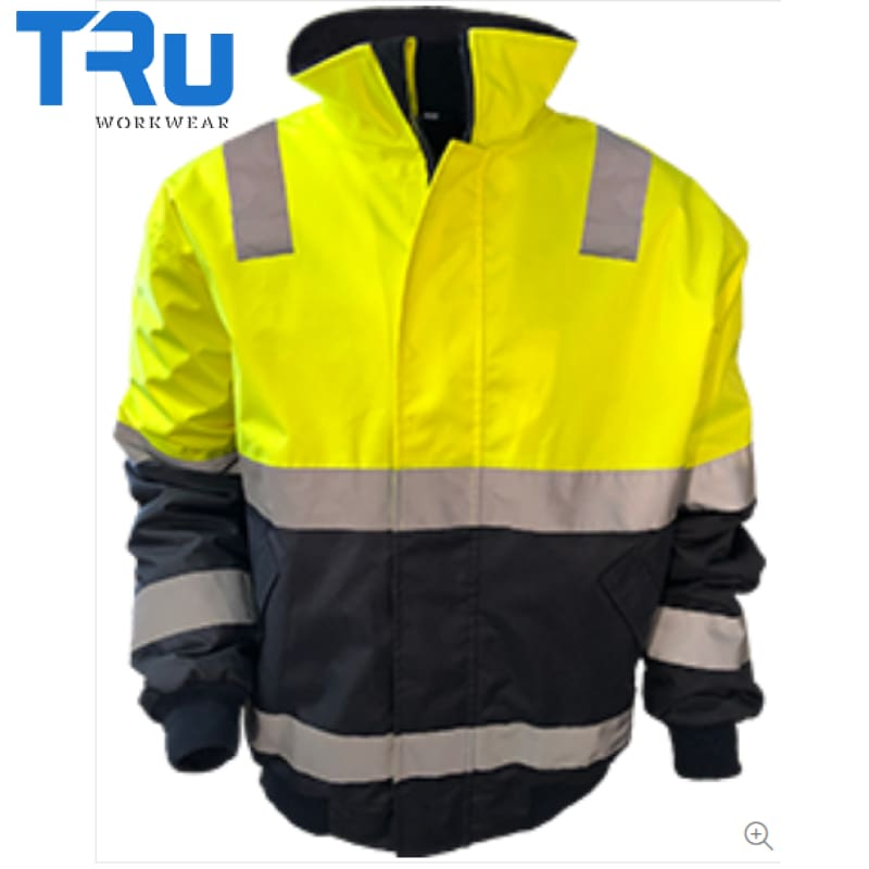 Tru Workwear - Pilot Rain Jacket Poly Oxford Tape Y/n