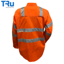 Load image into Gallery viewer, Tru Workwear - Shirt Cotton Drill Vic Rail Spec