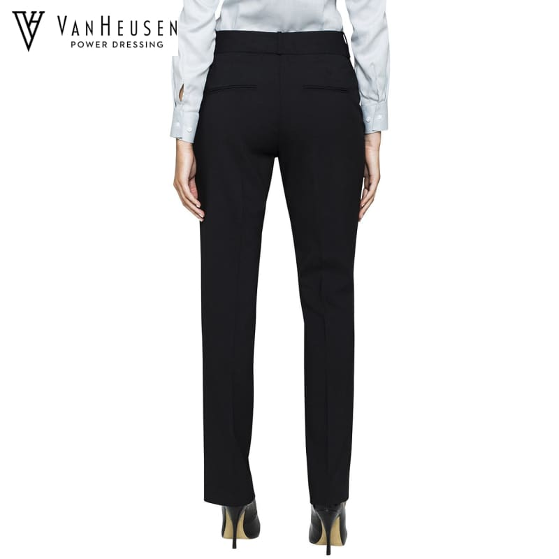 Van Heusen Ladies Suit Trouser Stretch Wool Blend Black