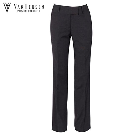 Van Heusen Ladies Suit Trouser Stretch Wool Blend Charcoal