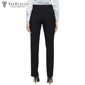 Van Heusen Ladies Suit Trouser Stretch Wool Blend Navy