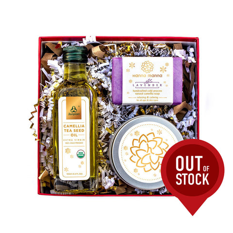 Healthy Gift Set (Camellia Oil, Soap, and Body Butter)
