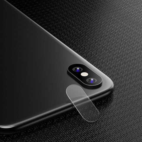 Camera Lens Tempered Glass Protector for iPhone X