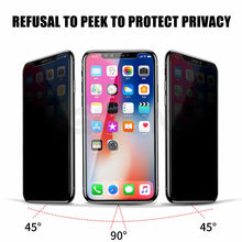 Load image into Gallery viewer, Anti Spy Tempered Glass For iPhone