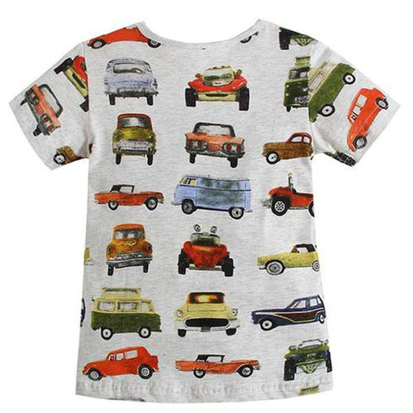 Classic Cars Knit Tee - Okiedokee Children's Boutique Kids Fashion Baby Clothes Cool Children's Clothing
