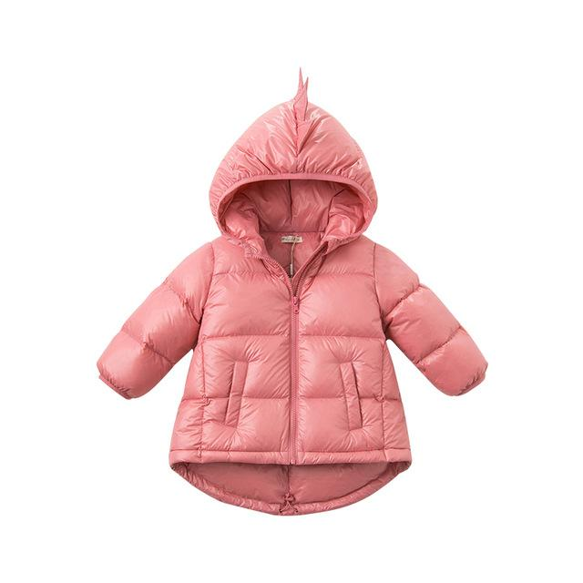 Baby Girl Dinomite Feather Down Parka