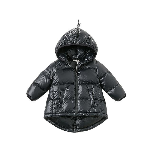 Toddler Girl Dinomite Feather Down Parka
