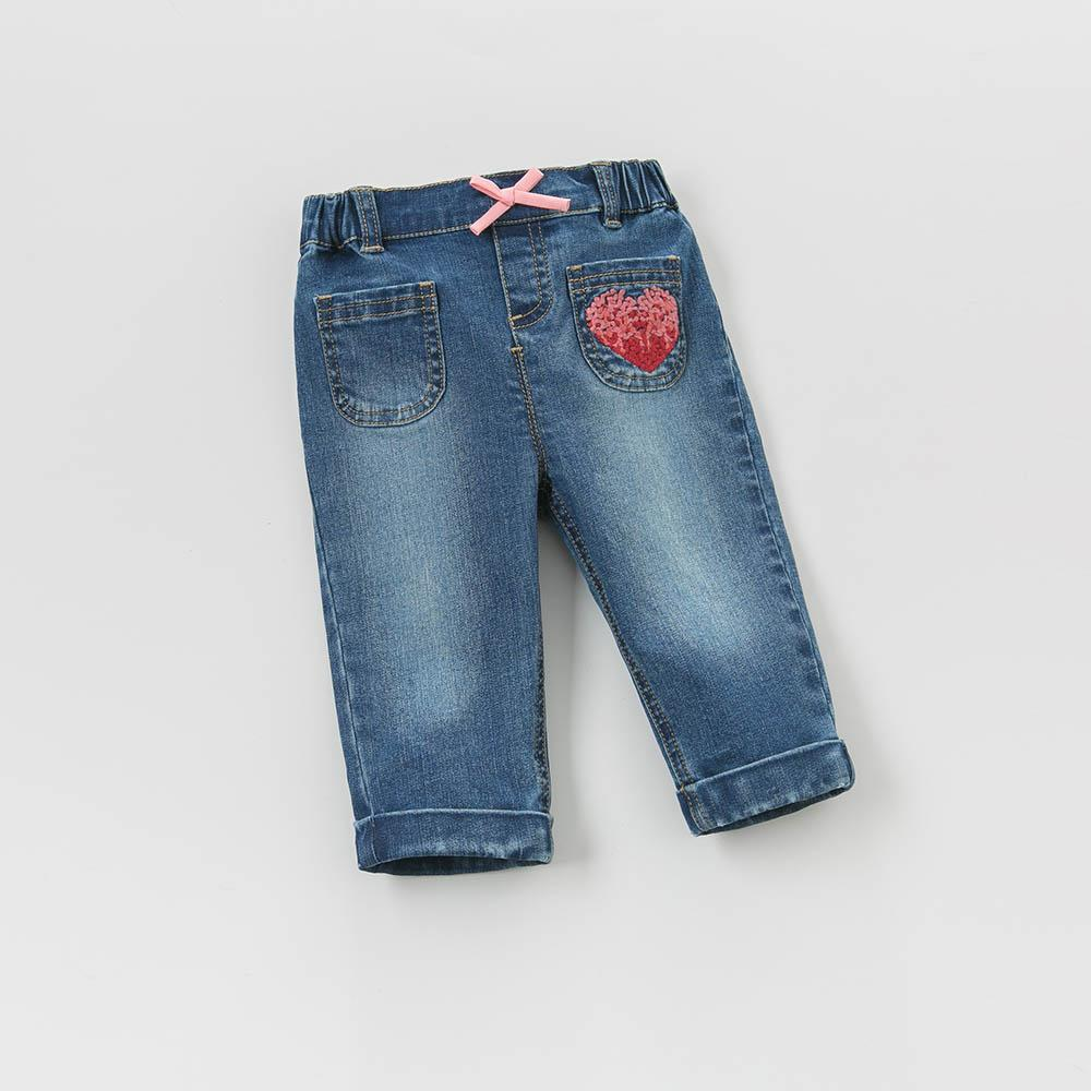 Adley Denim Pants - Okiedokee Children's Boutique Kids Fashion Baby Clothes Cool Children's Clothing