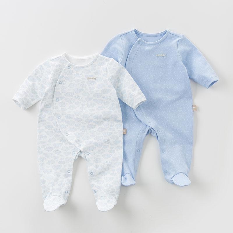 Brayden Knit Coverall Set - 2 Pack - Okiedokee Children's Boutique Kids Fashion Baby Clothes Cool Children's Clothing