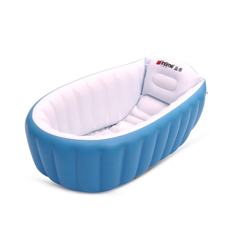 Inflate-a-tub Portable Baby Bath - Multiple Styles Available - Okiedokee