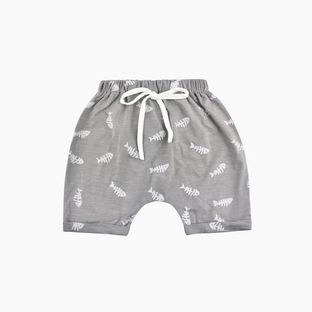 Bonefish Knit Shorts - Okiedokee Children's Boutique Kids Fashion Baby Clothes Cool Children's Clothing