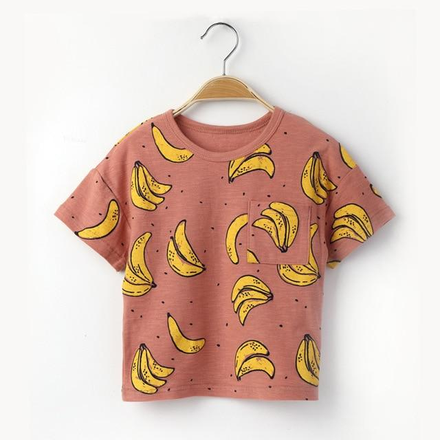 Banana Ramma Knit Tee - Okiedokee Children's Boutique Kids Fashion Baby Clothes Cool Children's Clothing
