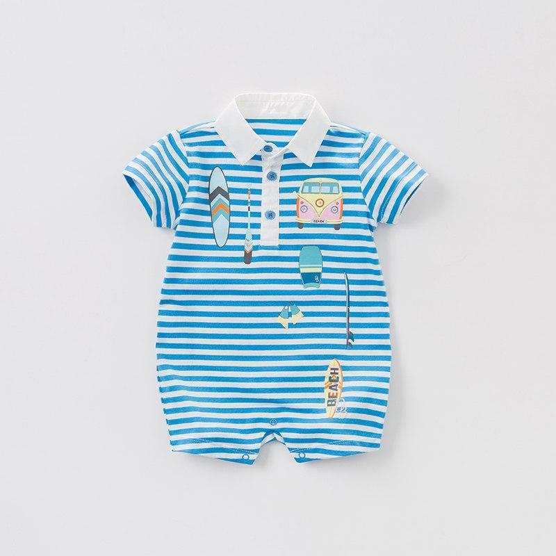 Beckett Romper - Okiedokee Children's Boutique Kids Fashion Baby Clothes Cool Children's Clothing