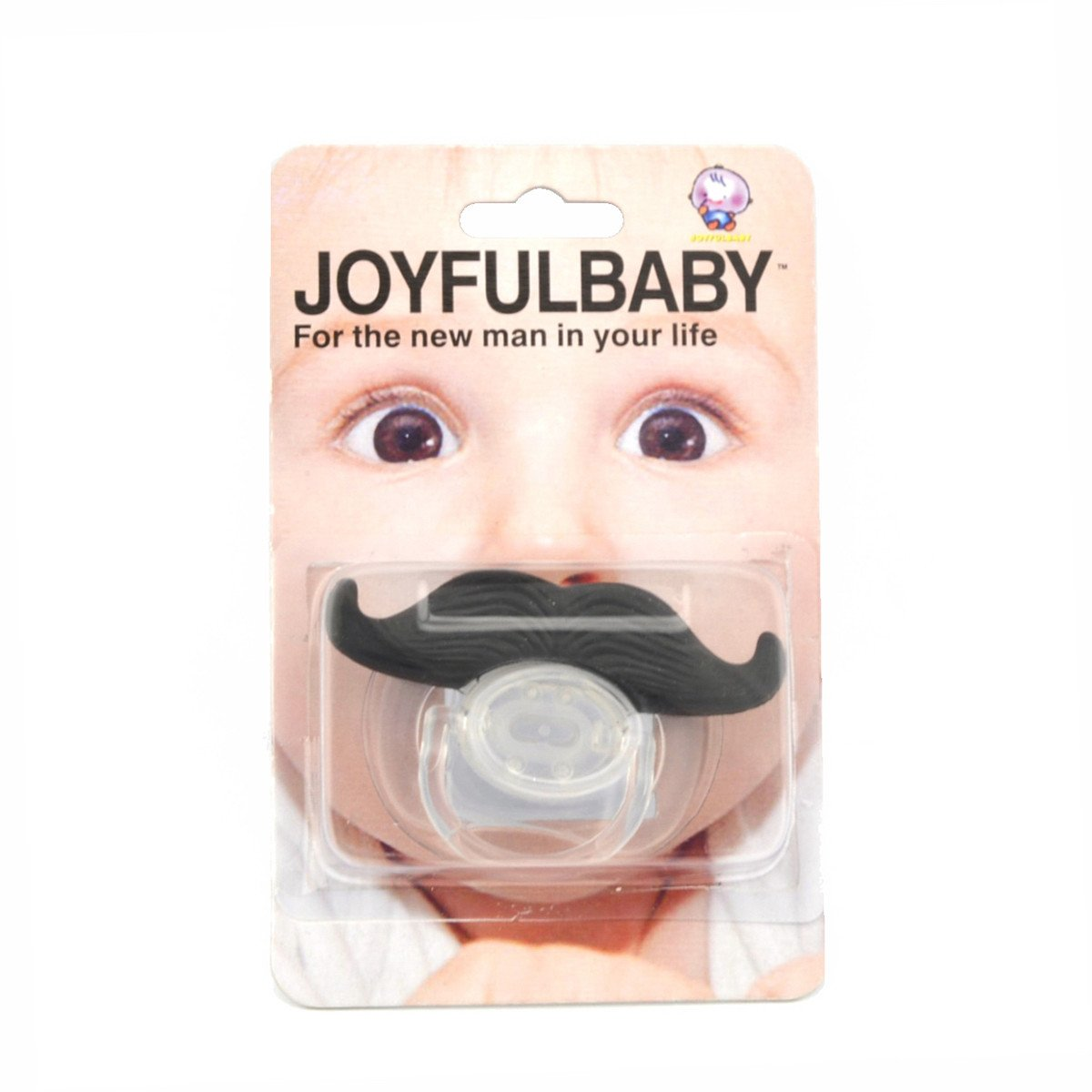 Mr. Macho Moustache Pacifier - Okiedokee