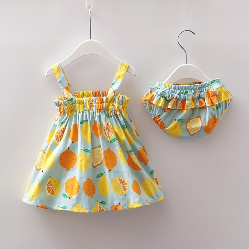 Clementine Sunshine Set - Okiedokee Children's Boutique Kids Fashion Baby Clothes Cool Children's Clothing