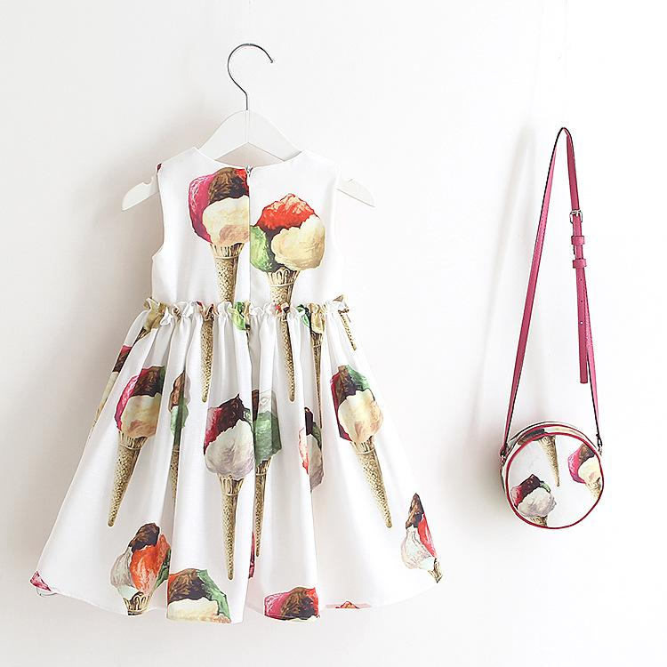 Dreams of Ice Cream Dress - Okiedokee