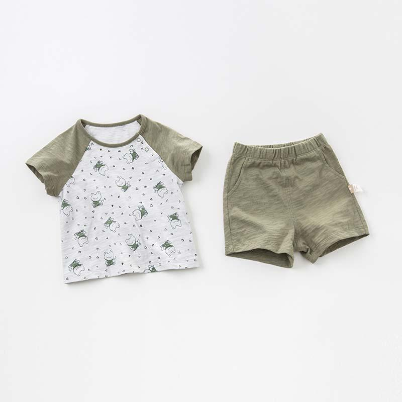 Froggy Knit Set
