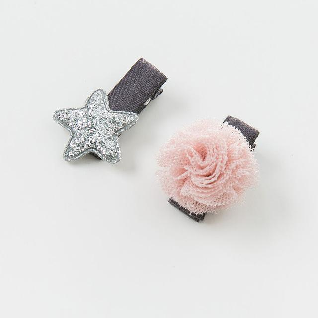 Stars and Bloom Barrette