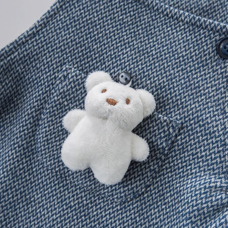 Bernard Bear Overalls - Okiedokee Children's Boutique Kids Fashion Baby Clothes Cool Children's Clothing