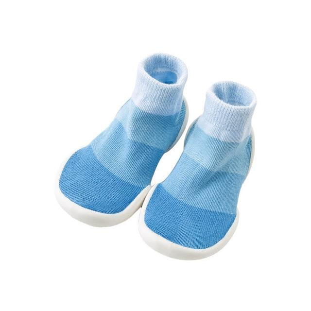 Azure Toddler Slipper Socks - Okiedokee Children's Boutique Kids Fashion Baby Clothes Cool Children's Clothing