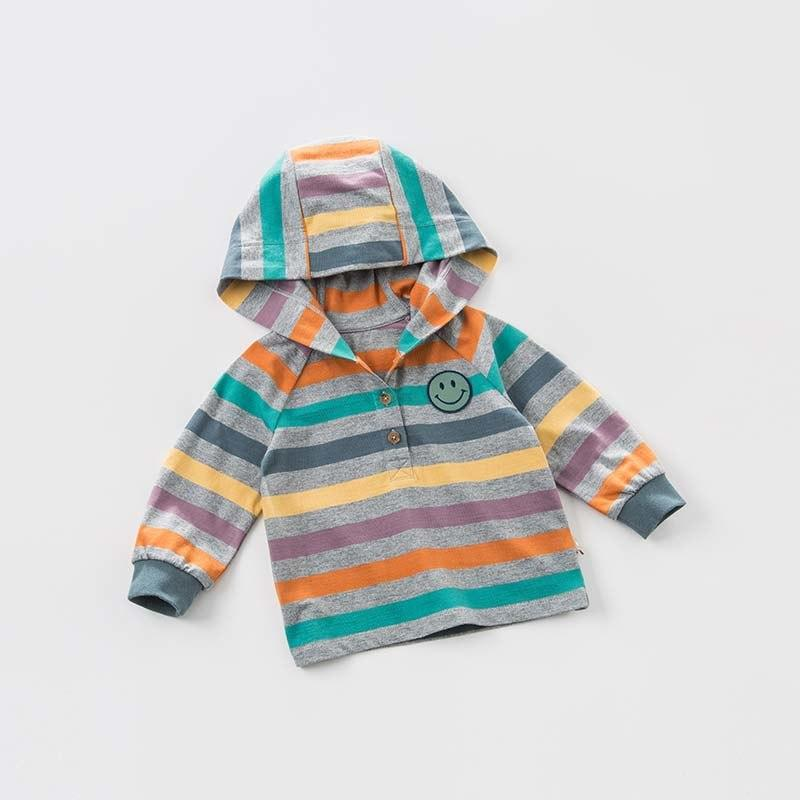 Arden Hooded Knit Henley - Okiedokee Children's Boutique Kids Fashion Baby Clothes Cool Children's Clothing
