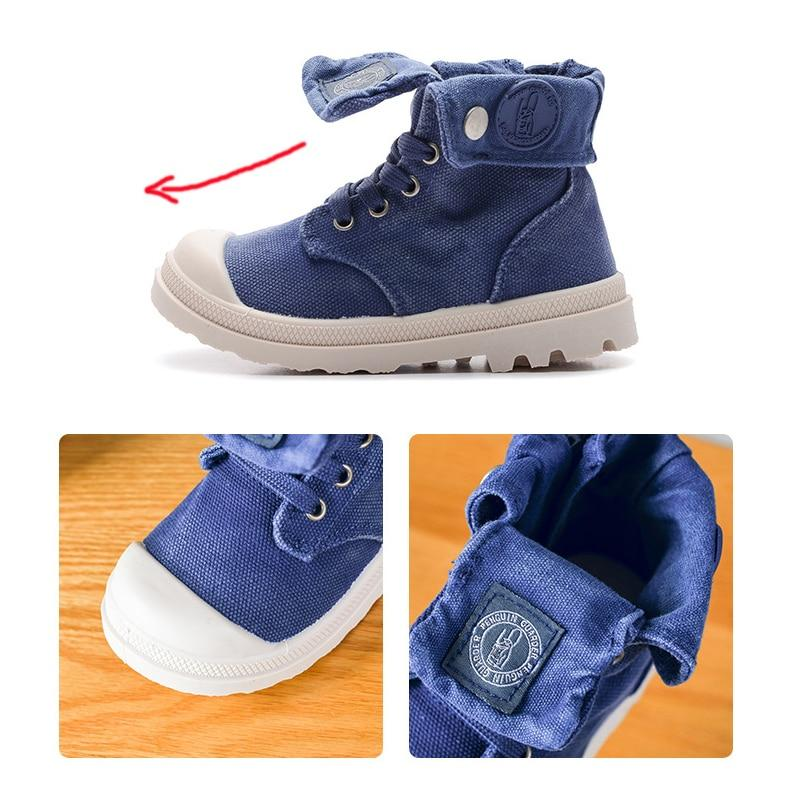 Christian Canvas Toddler Boots - Okiedokee Children's Boutique Kids Fashion Baby Clothes Cool Children's Clothing