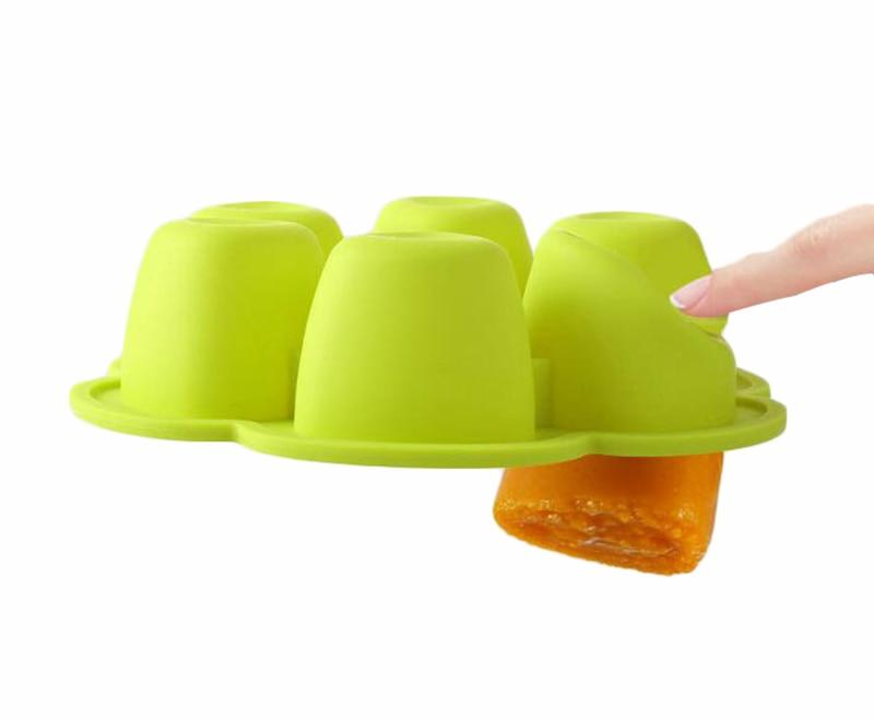 SafeEats Silicone Reusable Baby Food Storage Containers - Okiedokee
