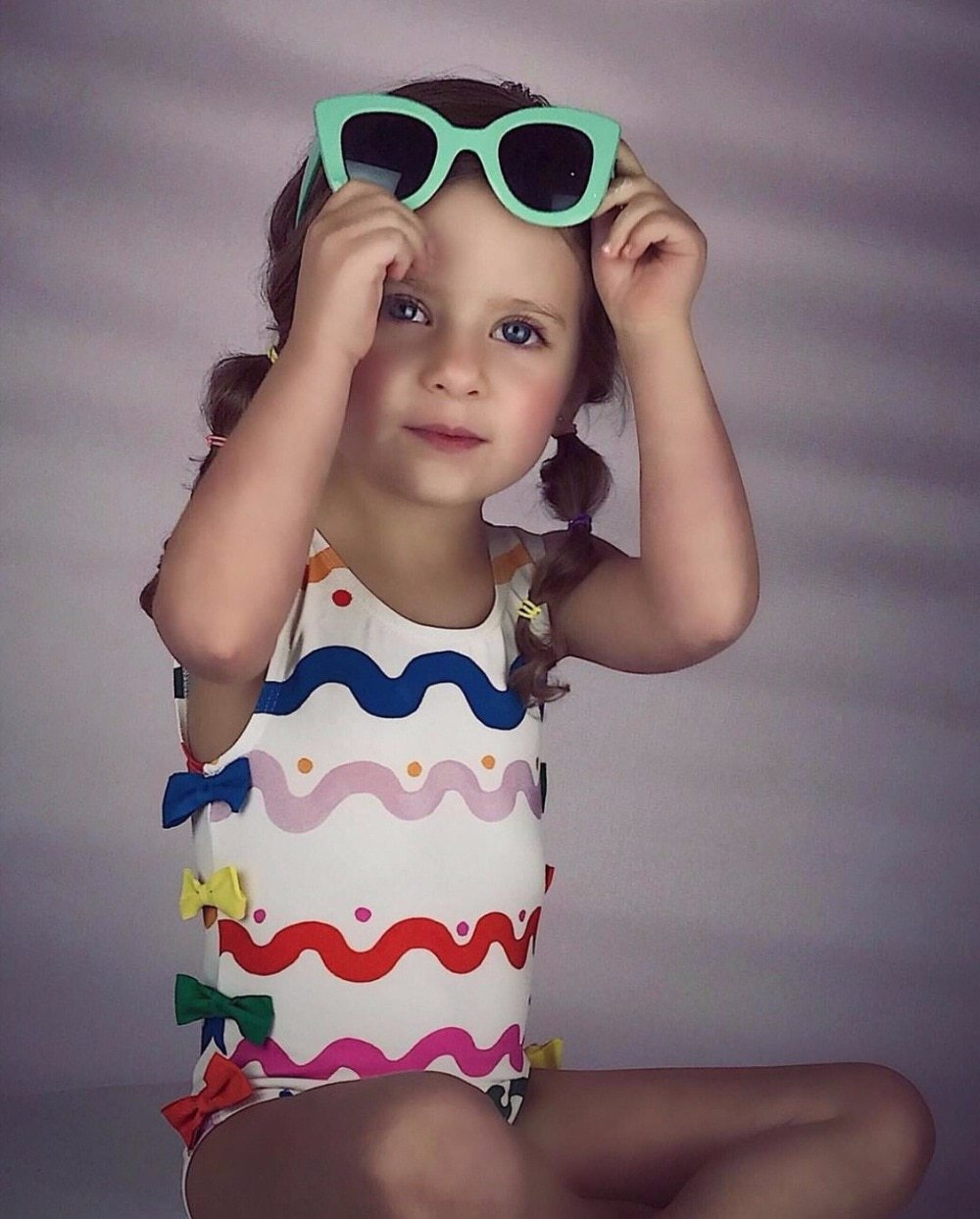 Carnival Wave Swim Suit - Okiedokee Children's Boutique Kids Fashion Baby Clothes Cool Children's Clothing