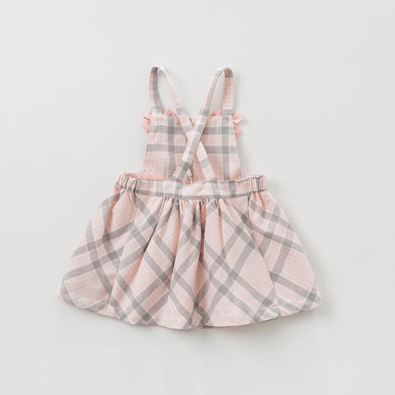 Colette Plaid Overall Skirt - Okiedokee Children's Boutique Kids Fashion Baby Clothes Cool Children's Clothing