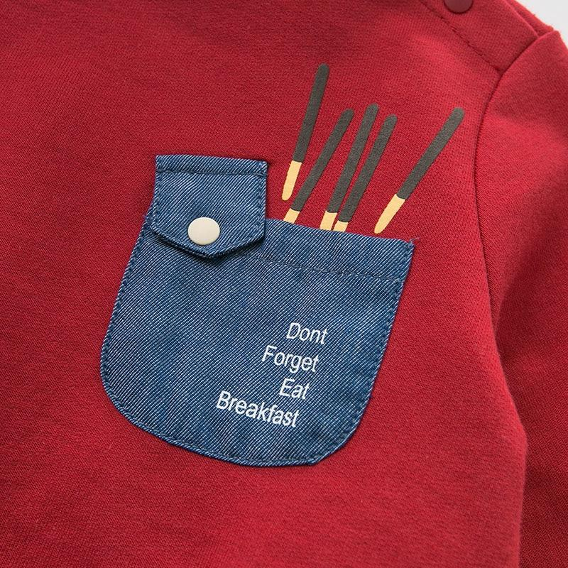 Breakfast Club Knit Crew - Okiedokee Children's Boutique Kids Fashion Baby Clothes Cool Children's Clothing