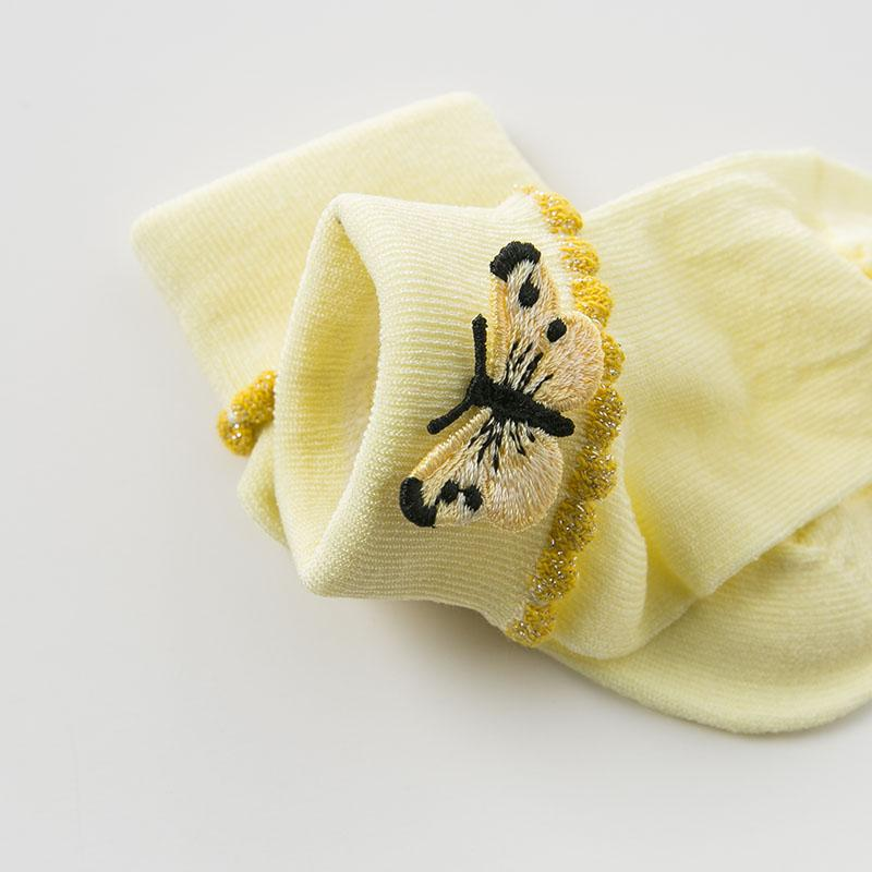 Butterfly Bloom Socks - Okiedokee Children's Boutique Kids Fashion Baby Clothes Cool Children's Clothing