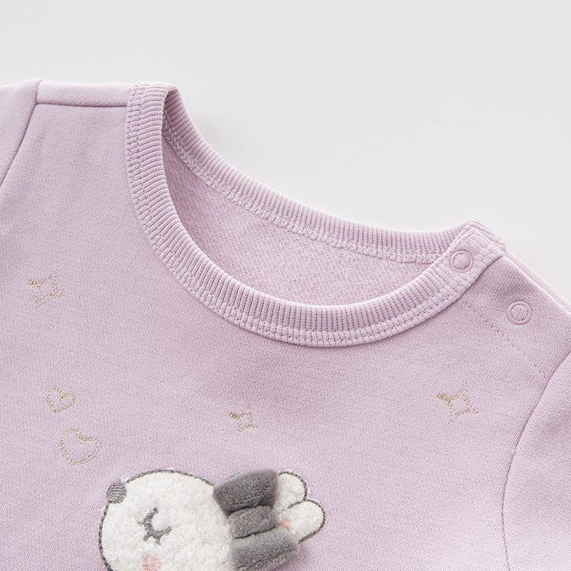 Bridget Bunny Knit Crew - Okiedokee Children's Boutique Kids Fashion Baby Clothes Cool Children's Clothing