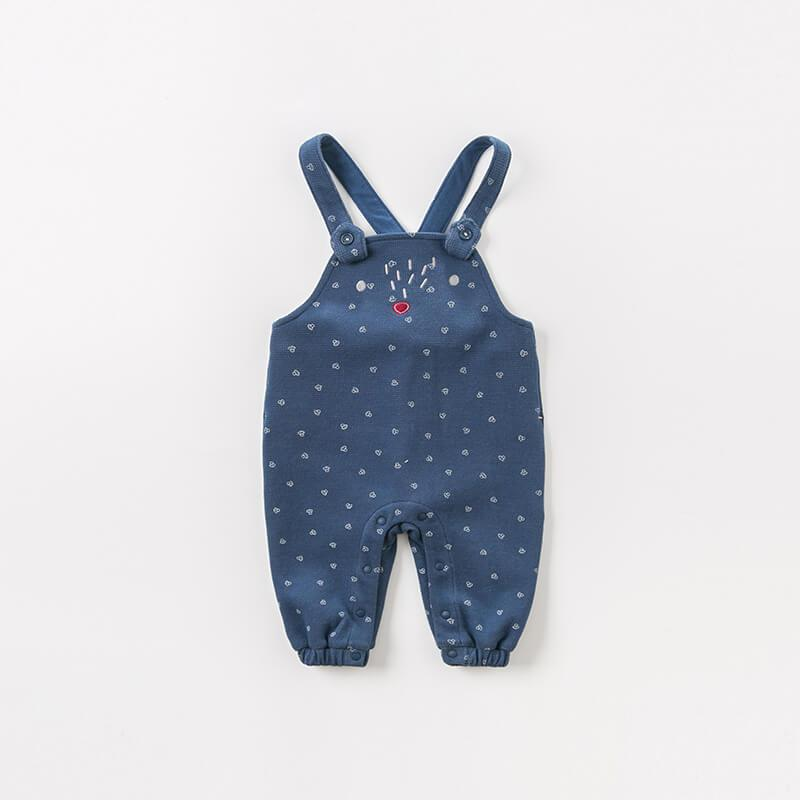 Bastian  Knit Overalls - Okiedokee Children's Boutique Kids Fashion Baby Clothes Cool Children's Clothing
