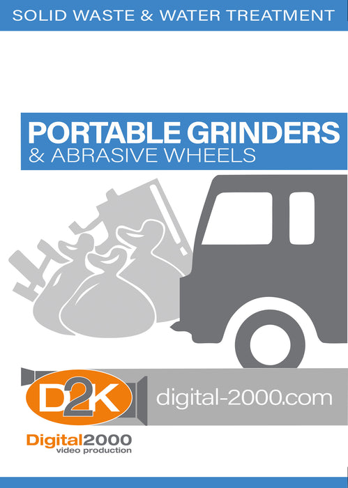 Portable Grinders and Abrasive Wheels (Waste Management)
