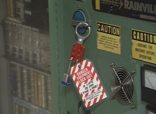 Lockout/Tagout - Hazardous Energy Source (Manufacturing)