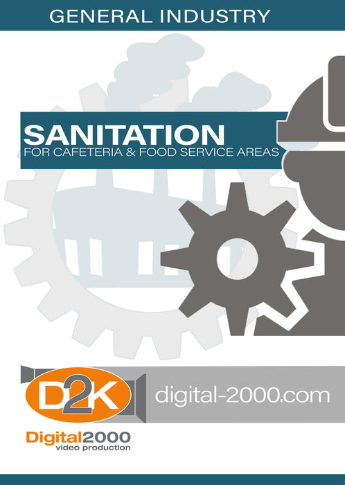 Sanitation For Cafeteria and Food Service Areas