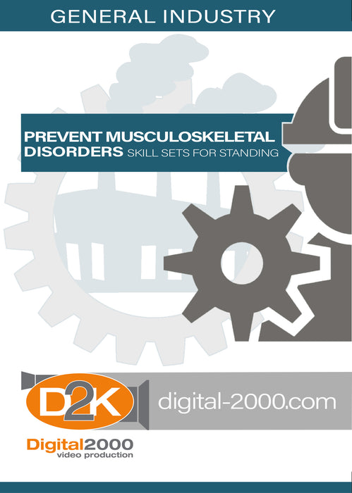 Prevent Musculoskeletal Disorders - Skill Sets For Standing