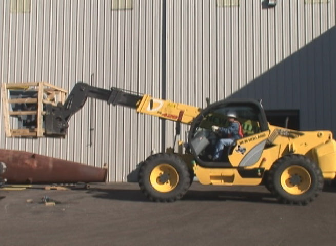 Operating a Telehandler Safely