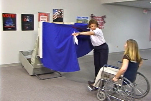 Sensitivities and Protocols For Voters With Disabilities