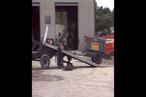 Loading and Unloading Trailers