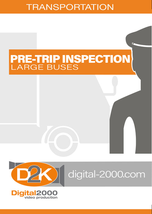 Pre-Trip Inspection - Large Buses
