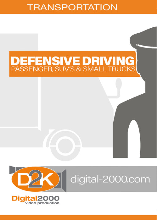 Defensive Driving:<br> Passenger, SUVs and Small Trucks