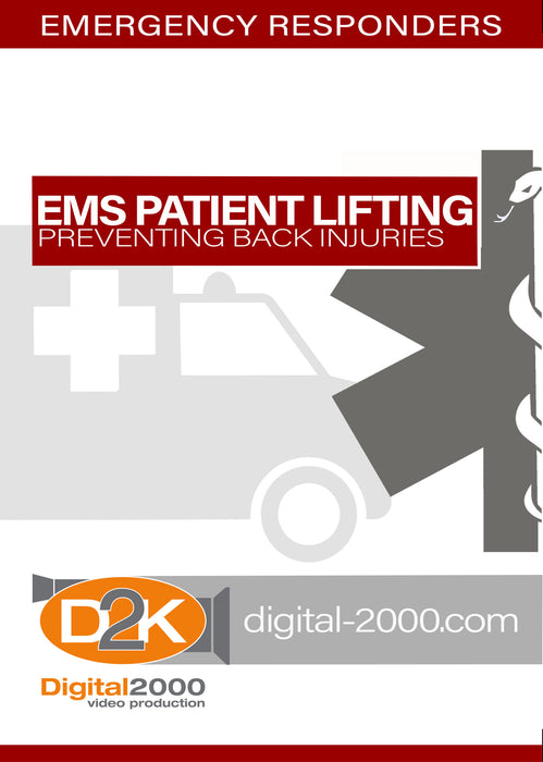 EMS Patient Lifting - Preventing Back Injuries