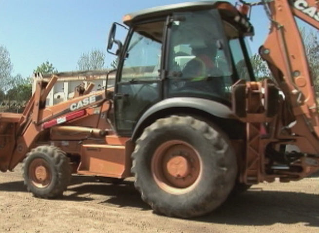 Backhoe Operations For Public Works