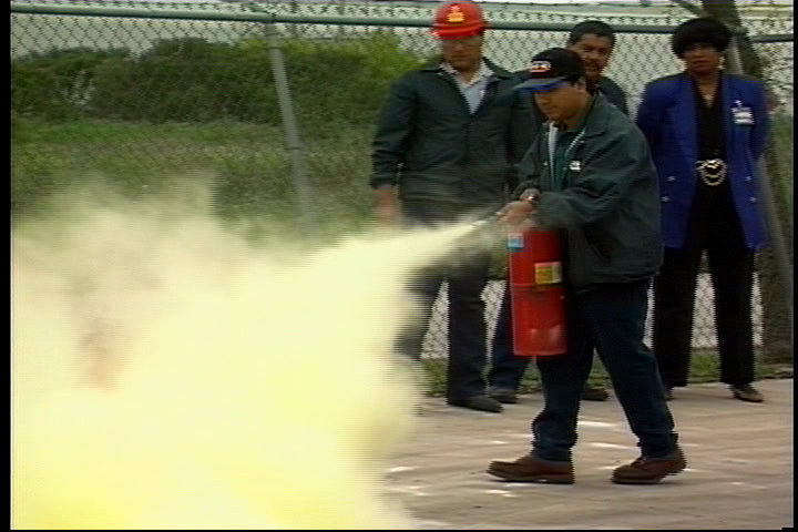 Fire Extinguisher Training (short refresher)