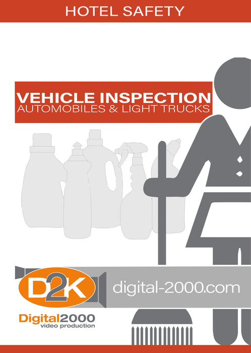 Vehicle Inspection - Automobiles and Light Trucks (Hospitality)