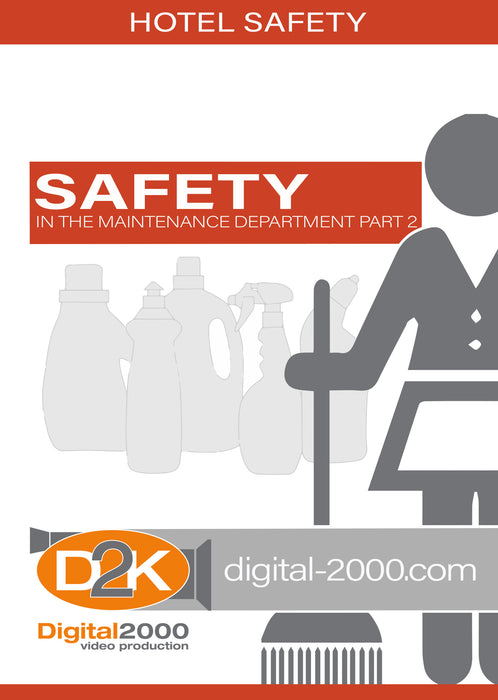Safety In The Maintenance Department Part 2 (Hospitality)