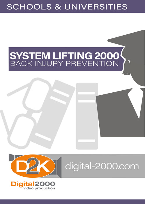 System Lifting 2000 - Back Injury Prevention (Without Back Belts) (Schools)