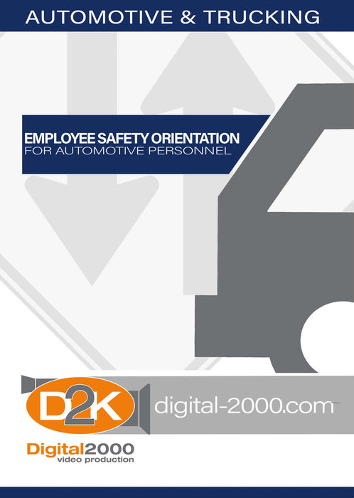 Employee Safety Orientation For Automotive Personnel