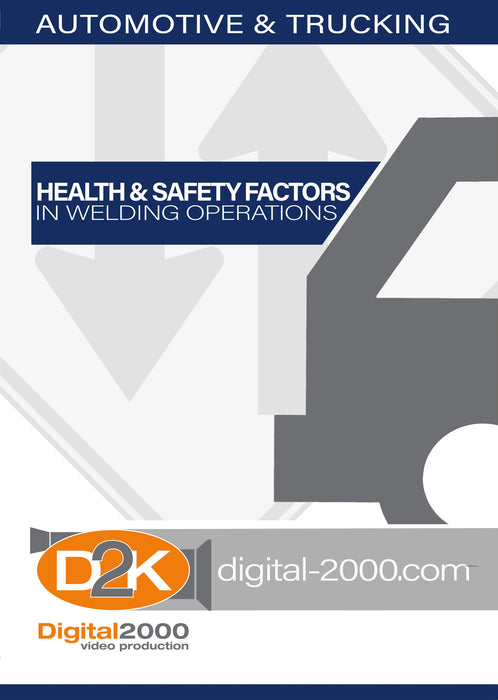 Health and Safety Factors In Welding Operations (Automotive)